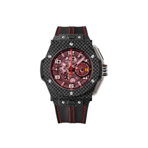HUBLOT BIG BANG FERRARI CARBON RED MAGIC LIMITED EDITION OF 1000 PCS 45.5MM MEN'S WATCH