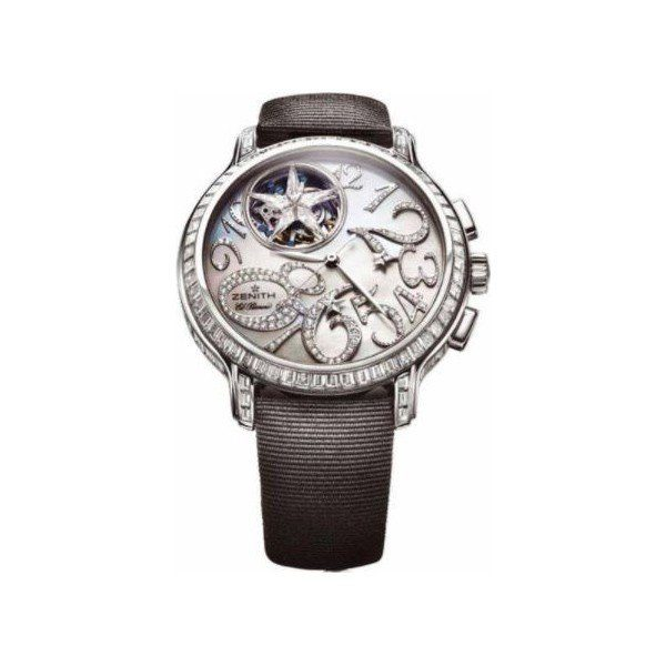 ZENITH STAR 18KT WHITE GOLD 40MM MEN'S WATCH