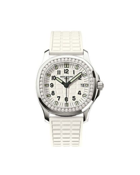 Patek Philippe Pre-Owned Aquanaut Luce 5067A-011 Stainless Steel Ladies Watch
