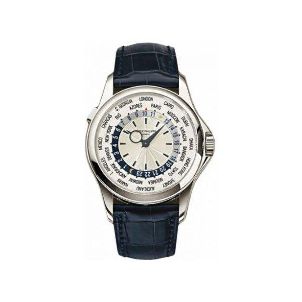 PATEK PHILIPPE COMPLICATIONS 18KT WHITE GOLD 39.5MM SILVER DIAL MEN'S WATCH