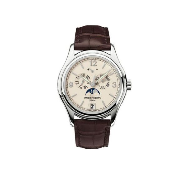 PATEK PHILIPPE COMPLICATIONS 5146G-001 ANNUAL CALENDAR MOON PHASES WATCH