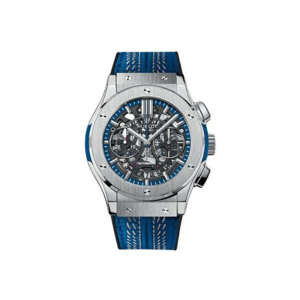 HUBLOT CLASSIC FUSION AEROFUSION TITANIUM NEW YORK GIANTS VICTOR CRUZ LIMITED EDITION OF 40 PCS 45MM MEN'S WATCH