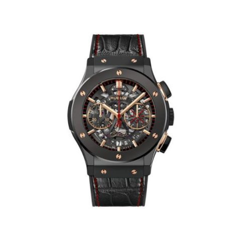 HUBLOT CLASSIC FUSION BLACK CERAMIC 45MM MEN'S WATCH