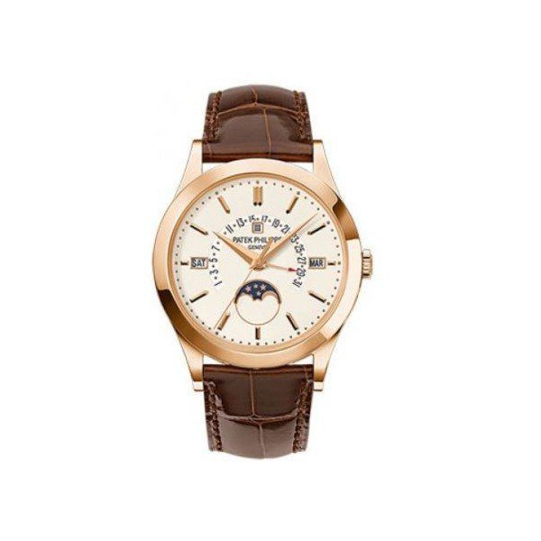 PATEK PHILIPPE GRAND COMPLICATIONS 18KT ROSE GOLD 39.5MM SILVERY OPALINE DIAL MEN'S WATCH