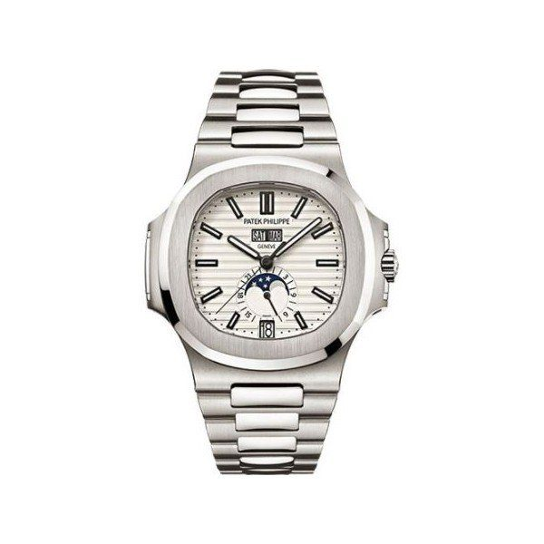 PATEK PHILIPPE NAUTILUS ANNUAL CALENDAR STEEL MEN'S WATCH Ref. 5726/1A-010