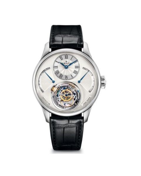 ZENITH ACADEMY CHRISTOPHE COLOMB 18KT WHITE GOLD 45MM MEN'S WATCH