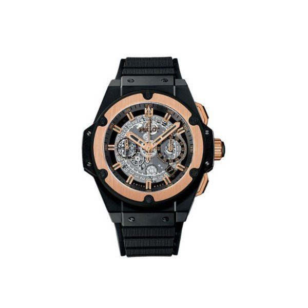 HUBLOT KING POWER BLACK CERAMIC 48MM MEN'S WATCH