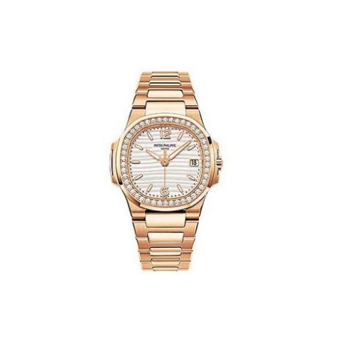 PATEK PHILIPPE NAUTILUS 18KT ROSE GOLD 32MM LADIES WATCH