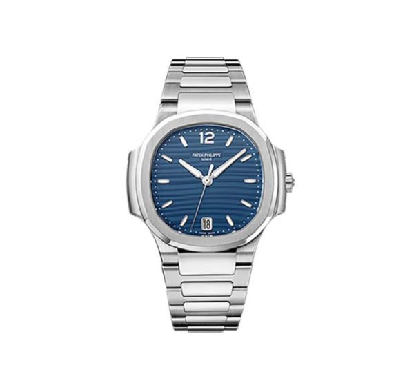 PATEK PHILIPPE NAUTILUS 7118/1A-001 STAINLESS STEEL BLUE OPALINE DIAL LADIES WATCH
