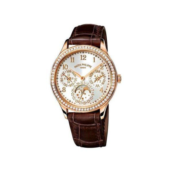 PATEK PHILIPPE GRAND COMPLICATIONS 18KT ROSE GOLD 35MM OPALINE DIAL LADIES WATCH