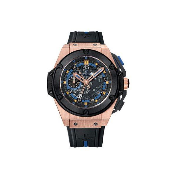 HUBLOT BIG BANG KING POWER UEFA EURO 2012 UKRAINE LIMITED EDITION OF 250 18KT KING GOLD 48MM MEN'S WATCH
