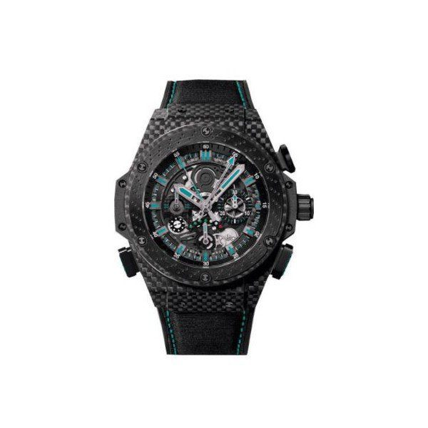 HUBLOT BIG BANG KING POWER F1 ABU DHABI LIMITED EDITION OF 250 PCS CARBON FIBER 48MM MEN'S WATCH