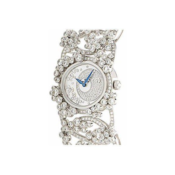 AUDEMARS PIGUET MILLENARY 18KT WHITE GOLD 28MM MOP DIAL LADIES WATCH
