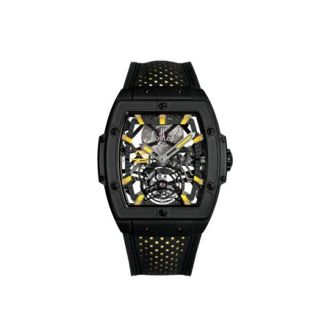 HUBLOT MASTERPIECE LIMITED EDITION OF 41 PCS PVD COATED TITANIUM MEN'S WATCH