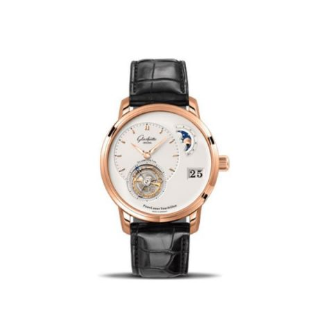 GLASHUTTE ORIGINAL PANOLUNAR 18KT ROSE GOLD 40MM MEN'S WATCH