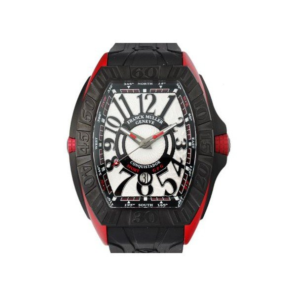 FRANCK MULLER CONQUISTADOR TITANIUM & ERGAL 62MM X 42MM MEN'S WATCH