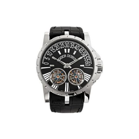 ROGER DUBUIS EXCALIBUR 18KT WHITE GOLD 46.5MM MEN'S WATCH