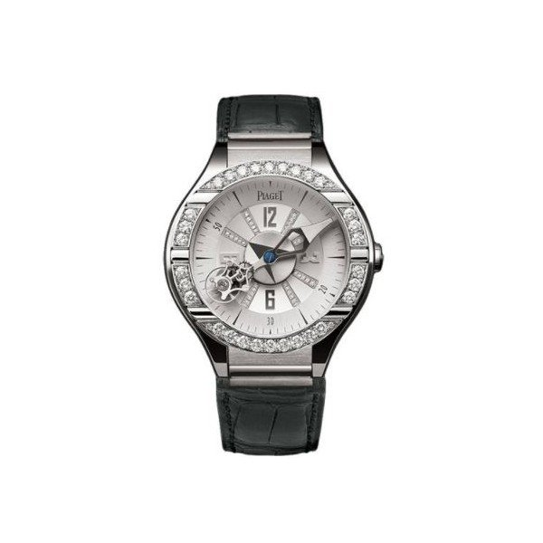 PIAGET POLO 18KT WHITE GOLD 45MM LADIES WATCH