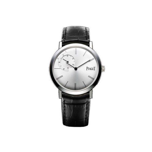 PIAGET ALTIPLANO 18KT WHITE GOLD 40MM MEN'S WATCH