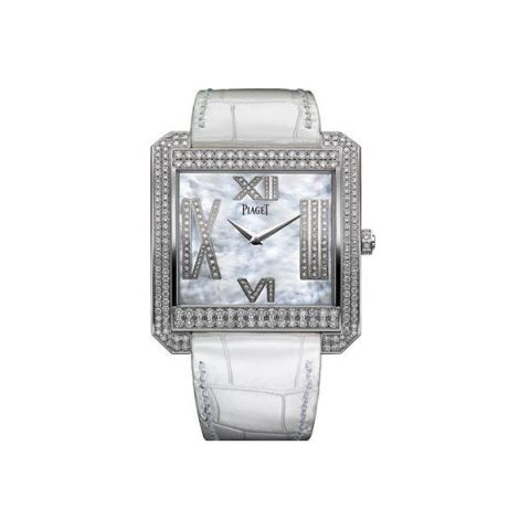 PIAGET LIMELIGHT 18KT WHITE GOLD 42 X 46MM LADIES WATCH