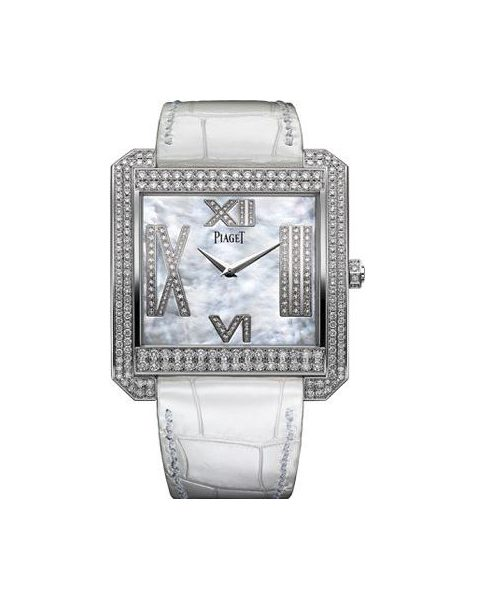 PIAGET LIMELIGHT 18KT WHITE GOLD 42MM X 46MM LADIES WATCH