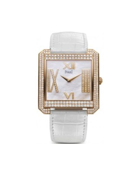 PIAGET PROTOCOLE 18KT ROSE GOLD 47MM X 42MM LADIES WATCH
