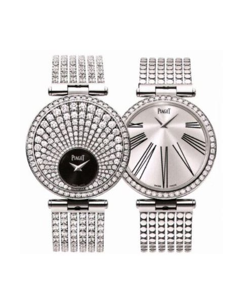PIAGET LIMELIGHT 18KT WHITE GOLD 35MM LADIES WATCH