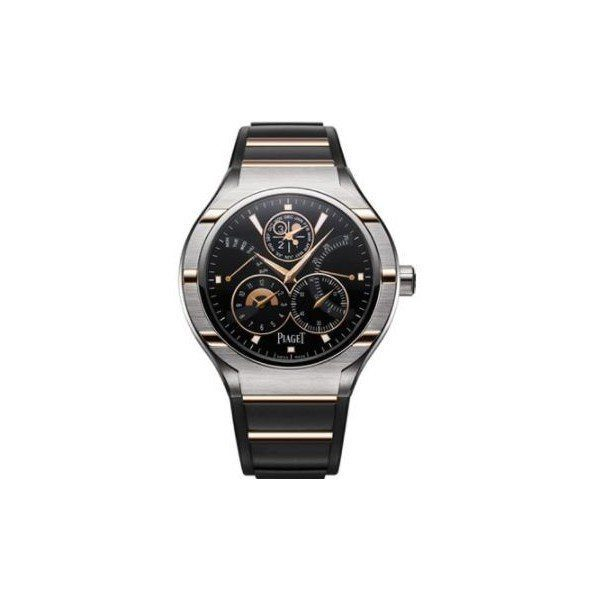 PIAGET POLO 18KT ROSE GOLD 45MM MEN'S WATCH