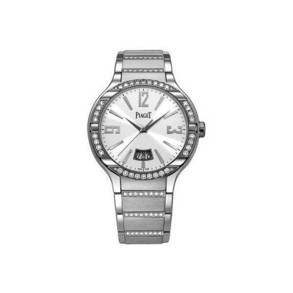 PIAGET POLO 18KT WHITE GOLD 40MM LADIES WATCH