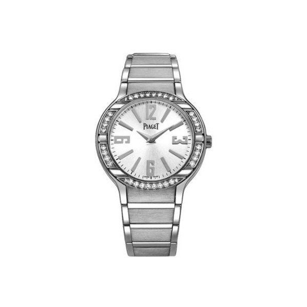 PIAGET POLO 18KT WHITE GOLD 32MM LADIES WATCH