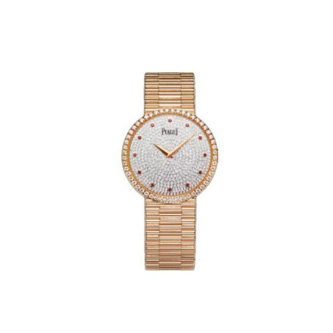 PIAGET TRADITIONAL 18KT ROSE GOLD 34MM LADIES WATCH