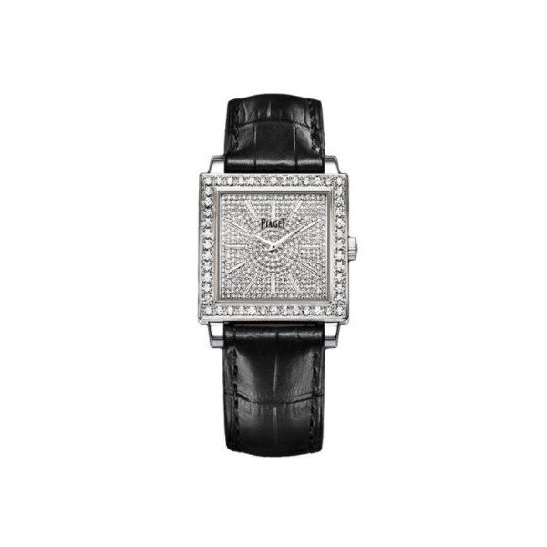 PIAGET ALTIPLANO 18KT WHITE GOLD 30MM X 30MM LADIES WATCH
