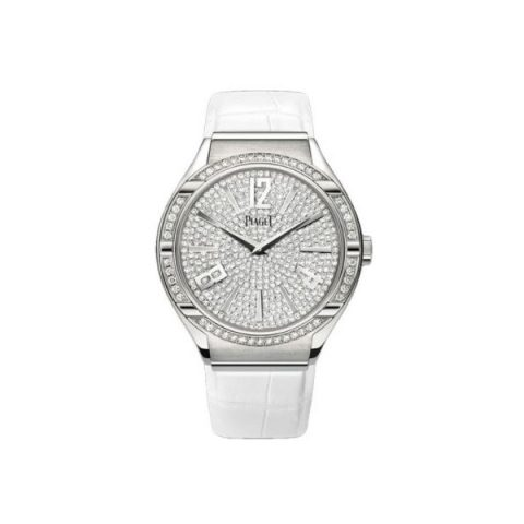 PIAGET POLO 18KT WHITE GOLD 38MM LADIES WATCH