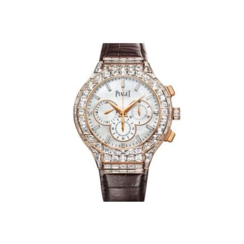 PIAGET POLO 18KT ROSE GOLD 44MM LADIES WATCH