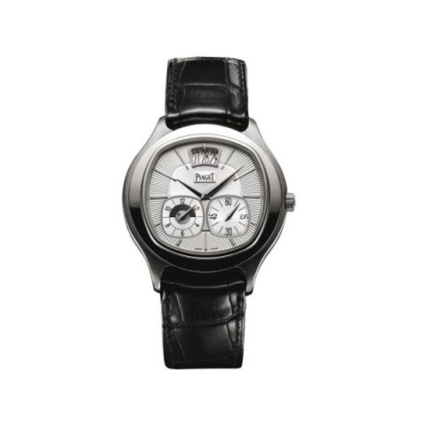 PIAGET EMPERADOR STAINLESS STEEL 42MM MEN'S WATCH