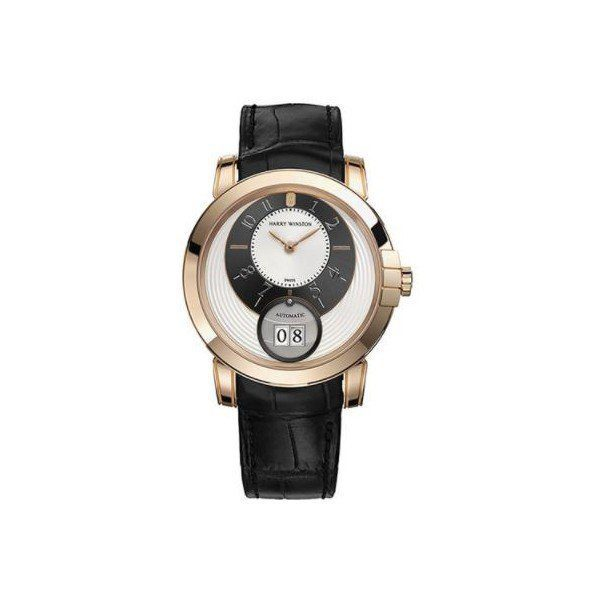 HARRY WINSTON MIDNIGHT 18KT ROSE GOLD 42MM MEN'S WATCH