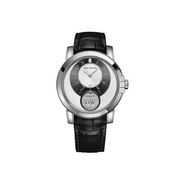 HARRY WINSTON MIDNIGHT 18KT WHITE GOLD 42MM MEN'S WATCH