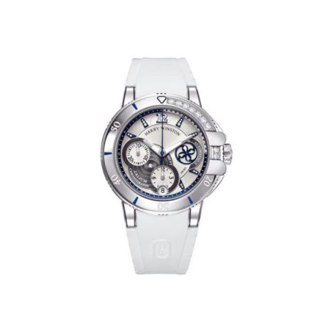 HARRY WINSTON OCEAN ZALIUM 38MM LADIES WATCH