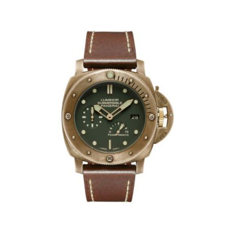 PANERAI LUMINOR DISCONTINUED MODEL BRONZE 47MM MEN'S WATCH