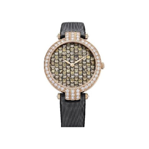 HARRY WINSTON PREMIER LIMITED OF 300 PCS 18KT ROSE GOLD 36MM LADIES WATCH