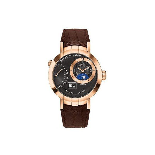 HARRY WINSTON PREMIER 18KT ROSE GOLD 41MM MEN'S WATCH