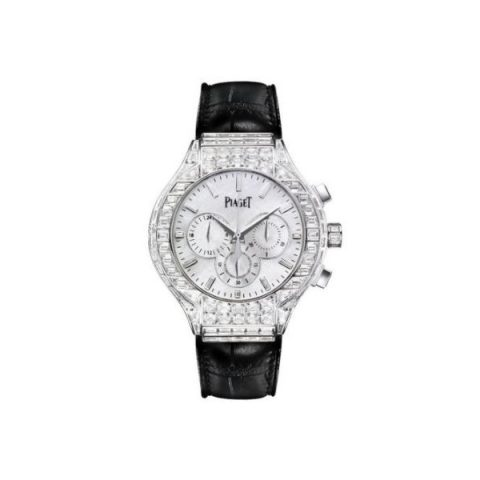 PIAGET POLO 18KT WHITE GOLD 44MM LADIES WATCH