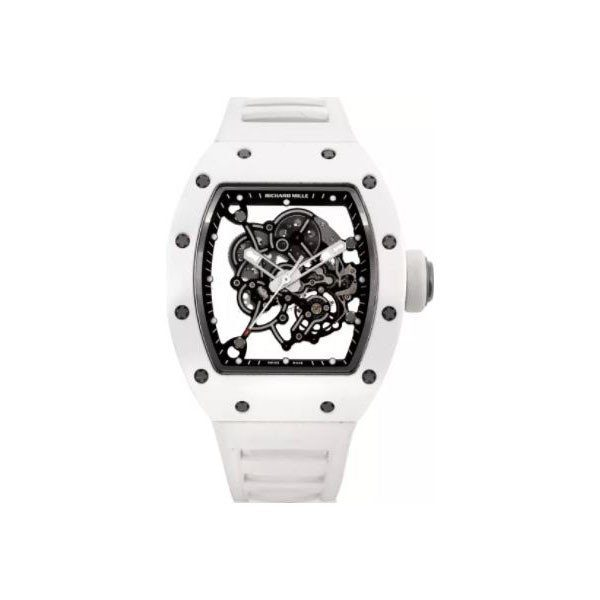 RICHARD MILLE BUBBA WATSON TITANIUM & CERAMIC 42MM MEN'S WATCH