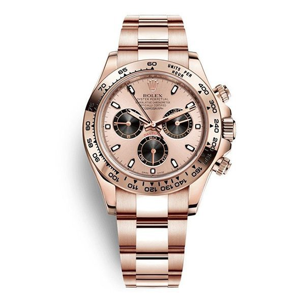 Rolex Pre-owned Cosmograph Daytona 18kt Rose Gold 40mm Men's Watch