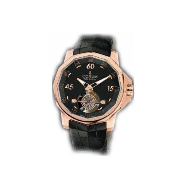 CORUM ADMIRAL'S CUP 18KT ROSE GOLD 40MM MEN'S WATCH