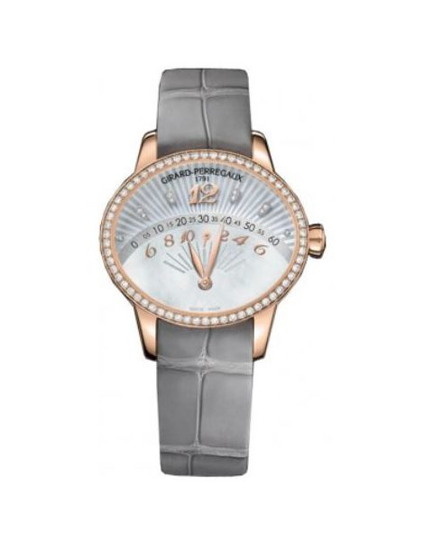 GIRARD PERREGAUX CAT'S EYE 18KT ROSE GOLD 35MM X 40MM LADIES WATCH