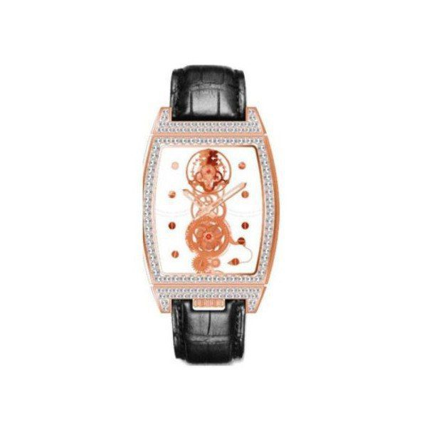 CORUM BRIDGES GOLDEN TOURBILLON LIMITED EDITION TO 5PCS 18KT ROSE GOLD 56MM X 38MM LADIES WATCH