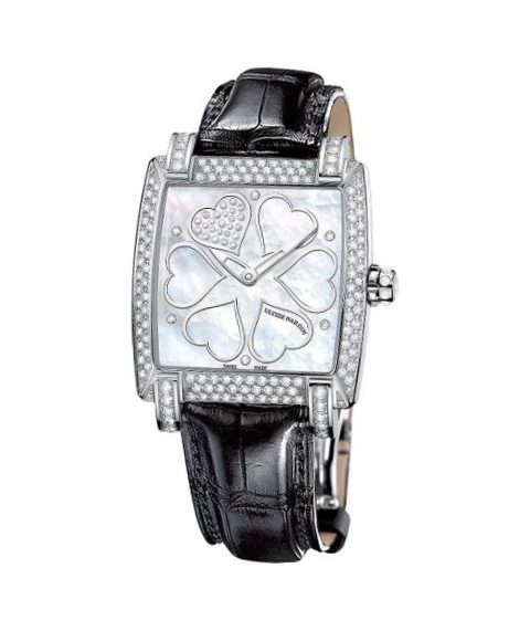 ULYSSE NARDIN CAPRICE STAINLESS STEEL 34MM X 35MM LADIES WATCH