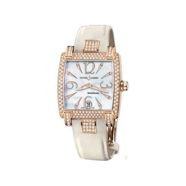ULYSSE NARDIN CAPRICE 18KT ROSE GOLD 34MM X 35MM LADIES WATCH