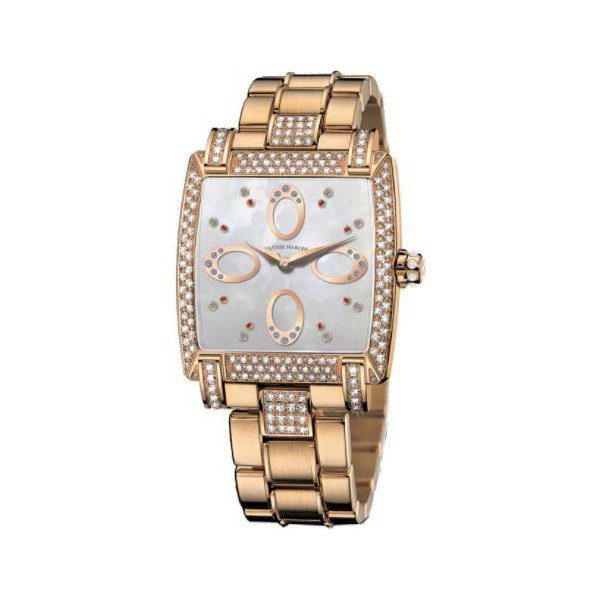 ULYSSE NARDIN CAPRICE 18KT ROSE GOLD 34MM X 35.MM LADIES WATCH